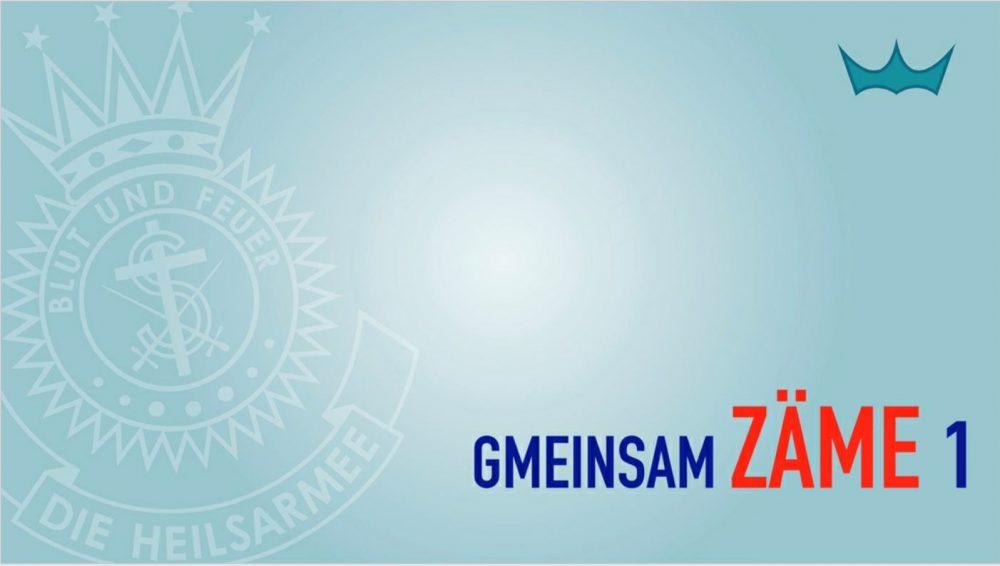 Gmeinsam Zäme - Jesus als gemeinsamen Nenner Image
